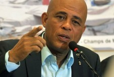 Martelly accuse l'opposition d'user de violence lors des manifestations