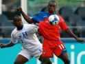 Football : Défaite honorable d'Haïti contre le Honduras